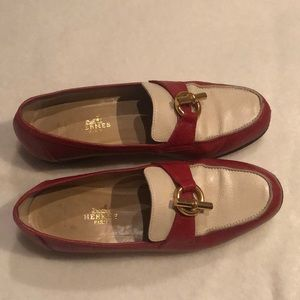 Authentic vintage Hermes loafers